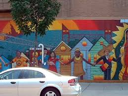 Chicago Map Wall Art by A Guide To 51 Neighborhood Murals You Must See Right Now