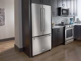 Kitchenaid 21 9 Cu Ft French Door Counter Depth Refrigerator