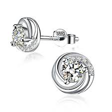 stud earrings earrings s day gift with exquisite package 925