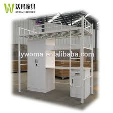 Metal Bunk Bed With Desk Bunk Bed With Desk And Wardrobe Bunk Bed With Desk And Wardrobe