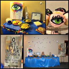 eye optometry optometrist theme party eyes murphy optometry