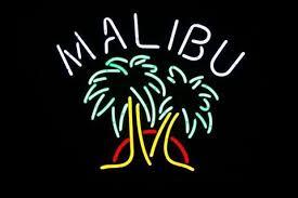 palm tree neon light malibu palm tree neon sign glass tube neon light for sale hanto