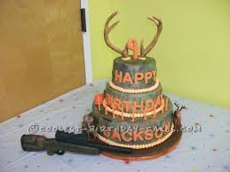 camo hunting cake