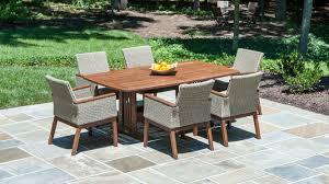 Jensen Outdoor Furniture Coral Dining Chair Assembled Jensen Leisure Furniture