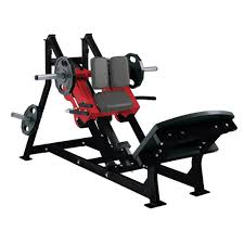 hammer strength plate loaded linear hack press life fitness