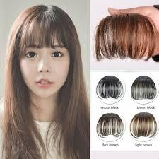 pinup clip in ponytail with bangs 1 шт клип в челкой поддельные наращивание волос шиньоны накладные