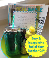 easy and inexpensive end of year gift teaching sam and scout