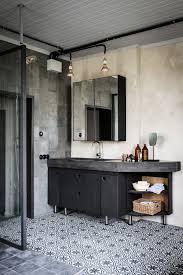 bathroom dark floor bathroom ideas bathroom tile patterns bathroom dark floor bathroom ideas industrial bathroom bathroom inspiration white closet and pedestal sink in