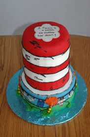 baby shower hat dr suess cat in the hat baby shower cakecentral