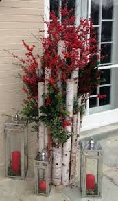 Cute Christmas Decorations For Outside by Best 25 Birch Tree Decor Ideas On Pinterest Farmhouse Holiday