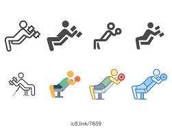Bench Pressing With Dumbbells Bench Press With Dumbbells Icon Free Download At Icons8