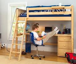 Kids Loft Bed With Desk DRK Architects - Kids bunk bed with desk