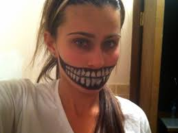 this is what my mouth will look like killer panda halloween