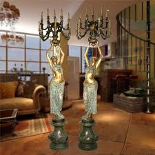 list manufacturers of antique bronze statue lamps buy antique