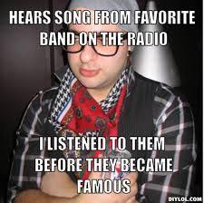 Radio Meme - resized oblivious hipster meme generator hears song from favorite