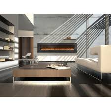 slim wall mounted gas fireplace with contemporary napoleon