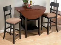 breakfast table with storage 64 most top notch fold down dining table and chairs folding card