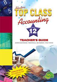 top class accounting grade 12 teacher u0027s guide wced eportal