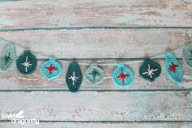 crochet garland blog hop dragonfly designs