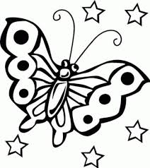 free printable butterfly coloring pages for kids with eson me