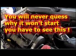ford focus wont start engine cranks but won t start