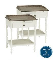 Bed Side Desk Side Tables Solid Wood Metal U0026 Painted Dennest