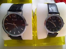 Jam Tangan Alba Pasangan jam tangan pasangan alba kulit sintetis pusat jam jakarta