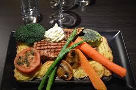 planke steak picture of restaurant b maribo tripadvisor