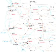 Road Map Of Usa States by Road Map Of Usa And Canada Mesmerizing Map Of Western Canada And