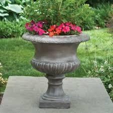 Urn Planters With Pedestal Urn Planters You U0027ll Love Wayfair