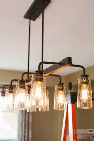power your reno installing a dining room light with an lec