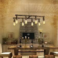 awesome industrial light fixtures or rustic pipe bathroom vanity