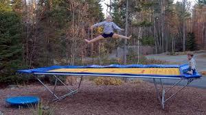 backyard pro trampolining