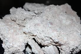 edible white dirt white crumbly clay dirt chunks clean and edible clay dirt