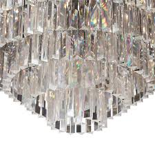Odeon Crystal Chandelier Timothy Oulton Odeon Chandelier 7 Ring Medium