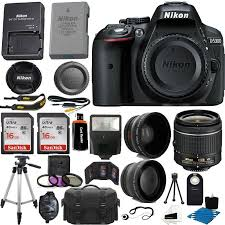 nikon d5300 black friday nikon d5300 digital slr camera 3 lens kit 18 55mm 32gb amazing