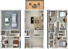 Four Bedroomed Single Storey House Plan 4 Room House Plan Pictures Four Bedroom Floor Plans Irish Row