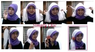 tutorial hijab pashmina tanpa dalaman ninja hijabers tutorial sakinah tutorial jilbab paris 4 pang kep