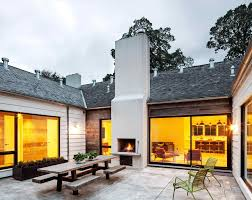 modern farmhouse outdoor fireplace wpyninfo