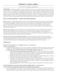 Technical Consultant Cv Consultant Resumes Technology Consultant Resume Resume For