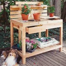 potting tables for sale cedar potting bench smith and hawken awesome for sale 4 prepare