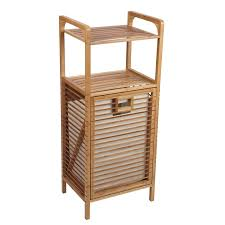 amazon com household essentials 6231 1 tilt out bamboo laundry