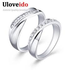 commitment ring aliexpress buy promotion sold by 2 pcs new 2017 silver color