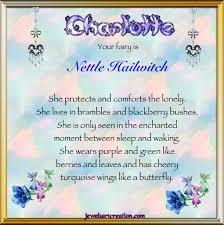 Acrostic Halloween Poems Charlotte Fairy Name Jewels Art Creation