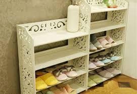 shoe storage ottoman bench chevron shoe storage ottoman bench