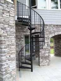 splendid corner home design with spiral staircase model with