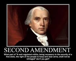 Second Amendment Meme - a message to all american gun owners