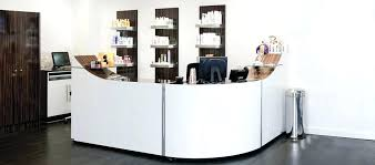 Reception Desk With Display Hair Salon Reception Desk Desks Australia Interque Co