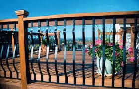 wood deck railing wood railings outdoor railings redwood and