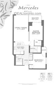 the penrose 750 bay street toronto idealtoronto condos the mercedes 2 bedroom 855 sqft
